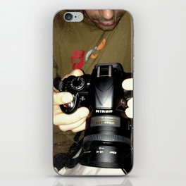 act of photography iPhone Skin