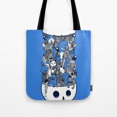 doodle breakout (blue) Tote Bag