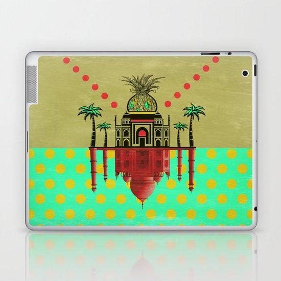 pineapple architecture 2 Laptop & iPad Skin