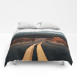 Road to Valley of Fire Comforters