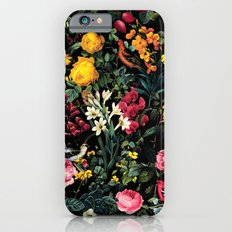 Floral and Birds Pattern iPhone 6s Slim Case