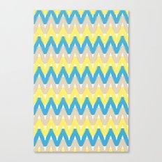 Summer Pattern 4 (Beach) Canvas Print
