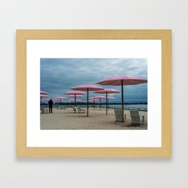 Sugar Beach, Toronto Framed Art Print