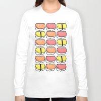 sushi Long Sleeve T-shirts featuring Sushi by ocamixn