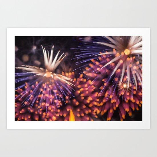 Fireworks - Philippines 13 Art Print