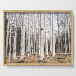 Trees of Reason - Birch Forest Serving Tray