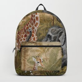 Vintage & Shabby Chic - Tropical Jungle Life Backpack