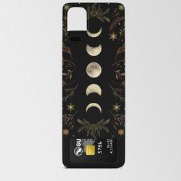Moonlight Garden - Winter Brown Android Card Case