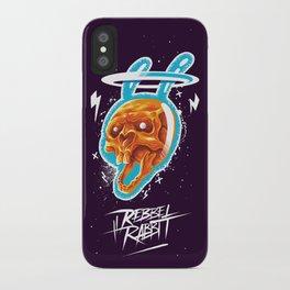 Electric rabbit iPhone Case
