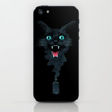 Black Cat Magic iPhone & iPod Skin