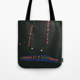 Radio City Music Hall, New York Tote Bag