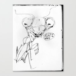 Snoop Mantis// Canvas Print