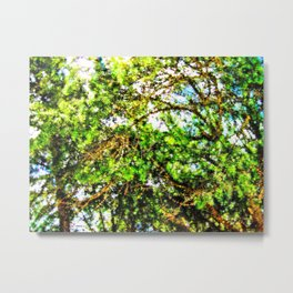 Abstract Trees 61 Metal Print
