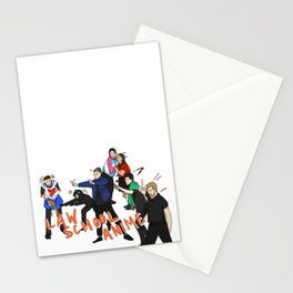 LAW SCHOOL ANIME Stationery Cards