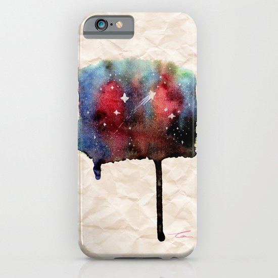Little Nebula Watercolor iPhone & iPod Case