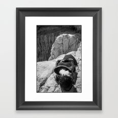 Resting Framed Art Print