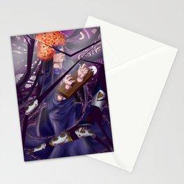 the nutcracker witch Stationery Cards