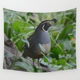mr quail Wall Tapestry