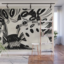 The Shadow with a Thousand Faces by Anna Helena Szymborska Wall Mural