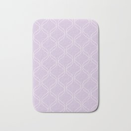 Double Helix - Light Purples #367 Bath Mat