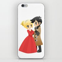 ouat iPhone & iPod Skins featuring OUAT - Captain Swan Formal by Choco-Minto
