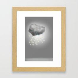 """""""Light"""" Storm Framed Art Print"""