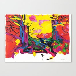 Secret Life of Trees 1/IV Canvas Print