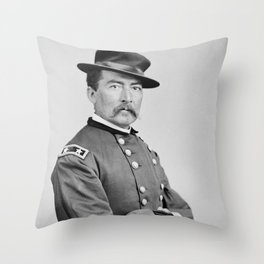 General Philip Sheridan - Union Civil War Throw Pillow