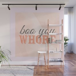 Boo You Whore-Mean Girls Wall Mural