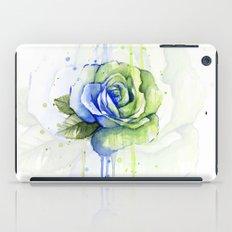 Flower Rose Watercolor Painting 12th Man Art iPad Case