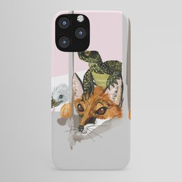 Waiting for the new neighbors iPhone Case