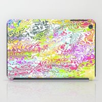 confetti iPad Cases featuring Confetti by Abstract Designs