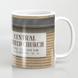 Central United Church Coffee Mug