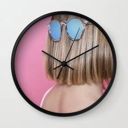 Hairy face Wall Clock