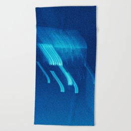 Being at the Drive-In Beach Towel