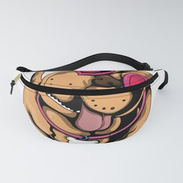 My Pitbull is My Valentine Pit Terrier Lover Fanny Pack