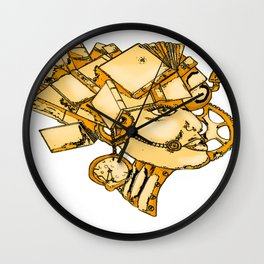 Booksmarts Wall Clock