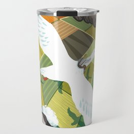 Nils With Wild Geese Travel Mug