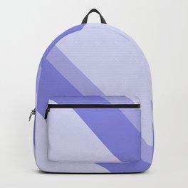 side stripes blue modern home Backpack