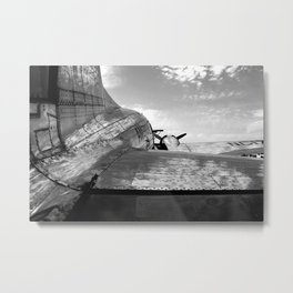 Flagship of Detroit Metal Print
