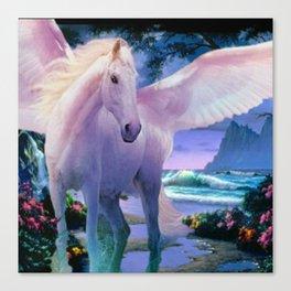 Winged Paradise Canvas Print