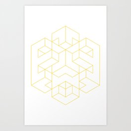 isocube.exe Art Print