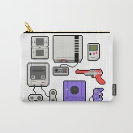 Pixel art console Nintendo Carry-All Pouch