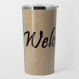 WELCOME with PINEAPPLE Travel Mug