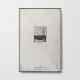 Scotch Metal Print