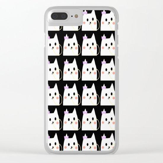 cat-170 Clear iPhone Case