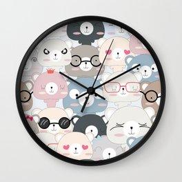 BEAR #6 Wall Clock