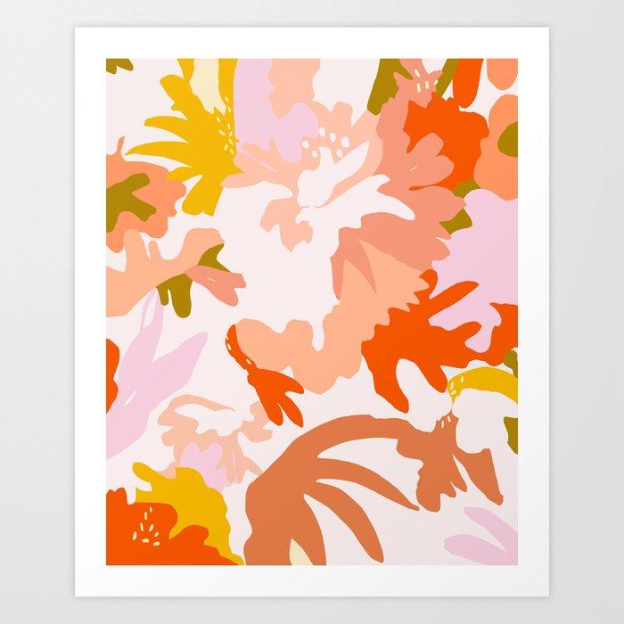 ambient flora Art Print