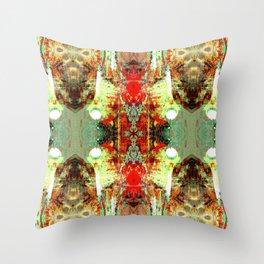 Dragon Skin Glamorama III Throw Pillow