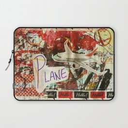 P for Plane Laptop Sleeve